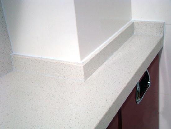 石英石橱柜台面加工效果图