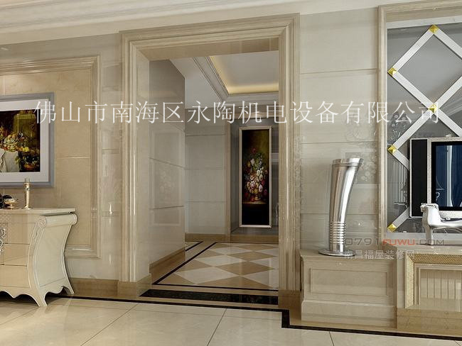 石材门套的家装图片_家装图片_装修效果图; 花都凯旋新欧豪门